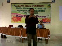 wan workshop pendamping PKH (kemiskinan)